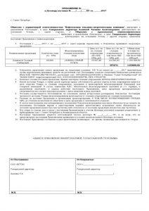thumbnail of Приложение к договору поставки -ПС